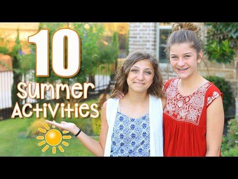 10 Fun Kid Activities to Fight Summer Boredom | Kamri Noel