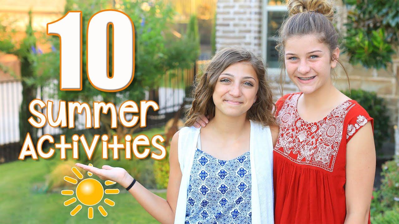 10 fun kid activities to fight summer boredom kamri noel youtube