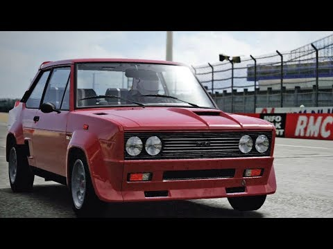 Forza Motorsport 4 - Abarth 131 1980 - Test Drive Gameplay (HD) [1080p60FPS]