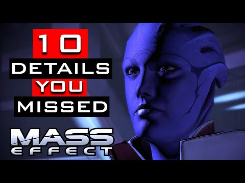 Mass Effect Trilogy - 10 Details You Probably Missed |