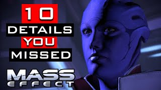 Mass Effect Trilogy - 10 Details You Probably Missed
