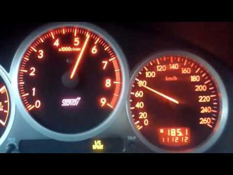 Subaru impreza wrx sti 1.5 BAR GT30 Top speed Türkiye. - YouTube