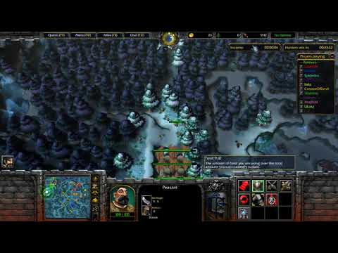 WarCraft 3 Farmer Vs Hunter #455