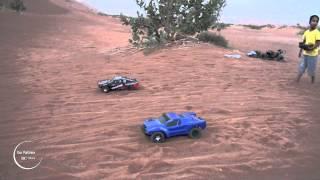 Traxxas Mini SLASH vxl RC Cars Racing - Omar Vs. Abdullah