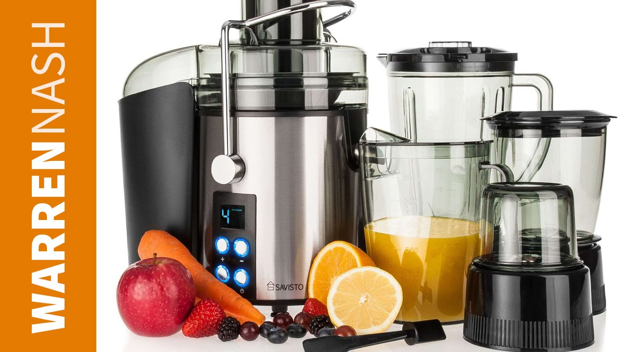Savisto 4 In1 Juicer Review New Machine For 2016 By Warren Nash