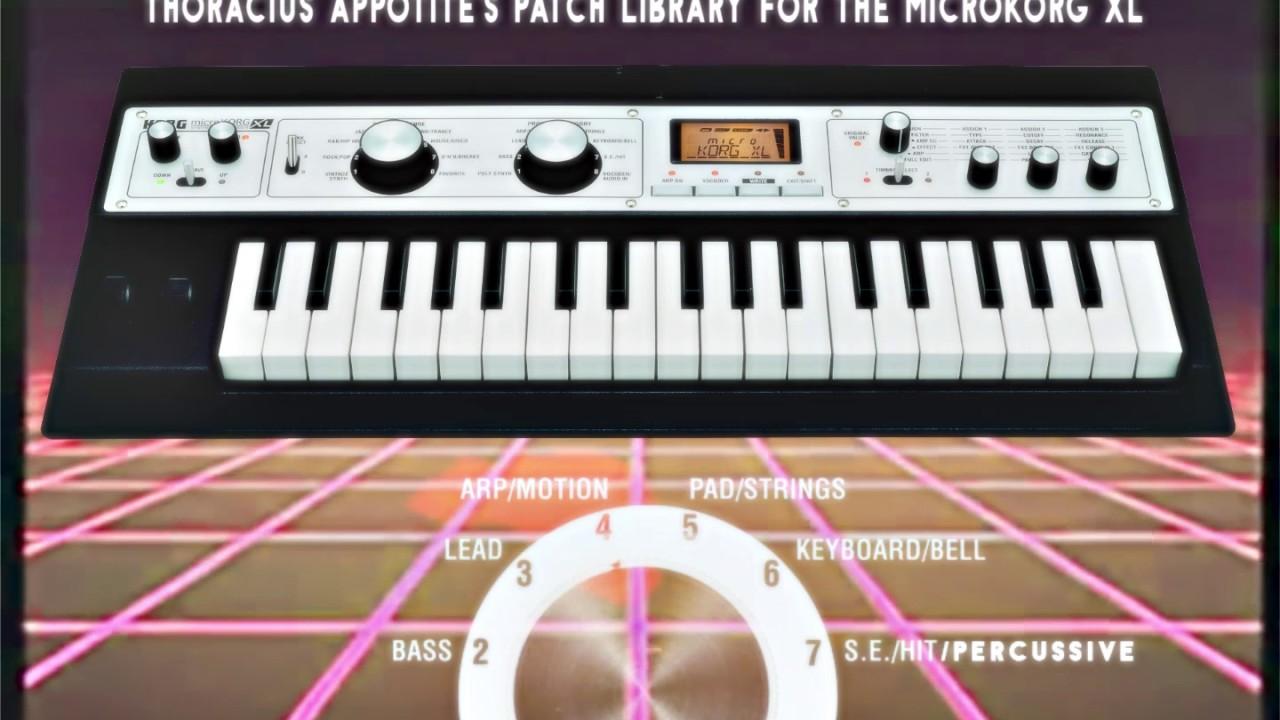 MicroKORG XL, XL+ - Ultimate Vintage/Retro Patch Bank (80s, 70s, Tame  Impala, Mac Demarco, etc )