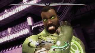 "Injustice: Gods Among Us Unique Clash Quotes - Martian Manhunter and ""John Stewart"" Green Lantern"
