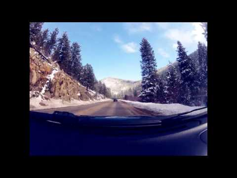 Driving Timelapse - Eldora Ski Resort to Boulder, CO
