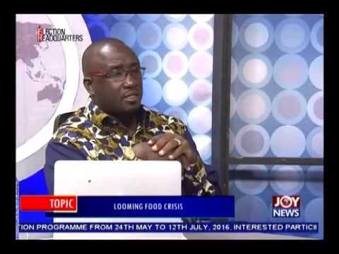 Looming Food Crisis - Pm Express on Joy News (8-6-16)