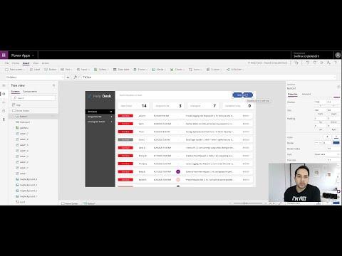 Help Desk Power App Part 3