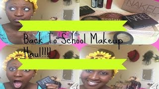 HUGE Fall/ Back to school make up haul!! |NARS|MAC|URBAN DECAY| AND MORE! Thumbnail
