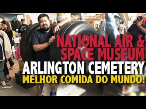 WASHINGTON DC | National Air & Space Museum + Arlington Cemetery #3