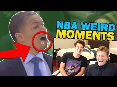 2HYPE REACTING TO AND RECREATING WEIRDEST NBA MOMENTS!