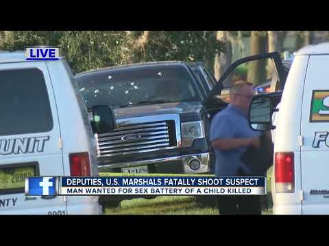 U.S. Marshals, Hernando County deputies shoot and kill man wanted for sexual battery