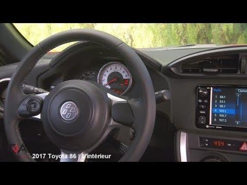 2017 Toyota 86 Special Edition en essai   L\'intérieur   Partie 2/7 ...