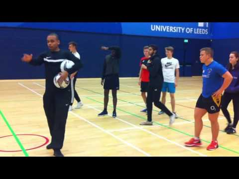 Aron David Sports Coaching Session