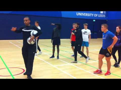 Aron David Sports Coaching Session