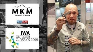 выставка IWA 2019 ножи MKM