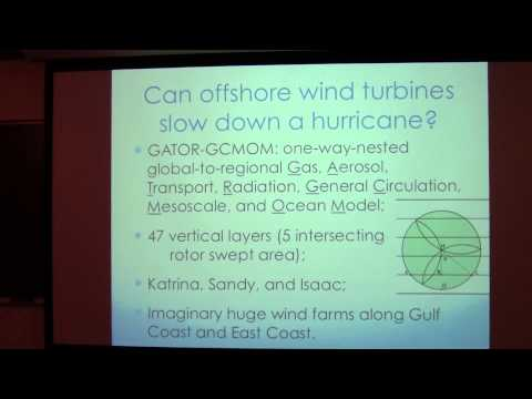 SoMAS / ITPA - Wind Energy, Atmospheric Turbulence, and Hurricanes