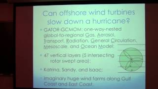 SoMAS / ITPA - Wind Energy, Atmospheric Turbulence, and Hurricanes