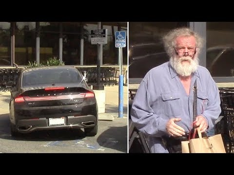 Nick Nolte Crashes His Car Into Concrete Barrier While Shopping In Malibu