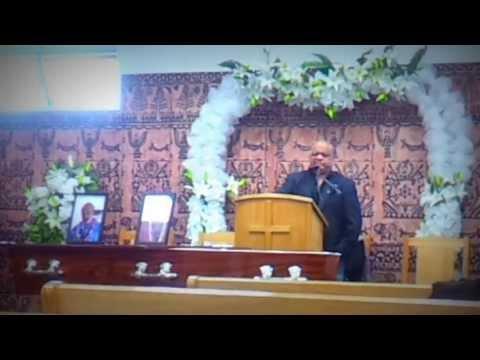 Harry Miller's Life's Celebration July 13, 2013 (10) - Harry's friend Eddie Taualapini's reflection