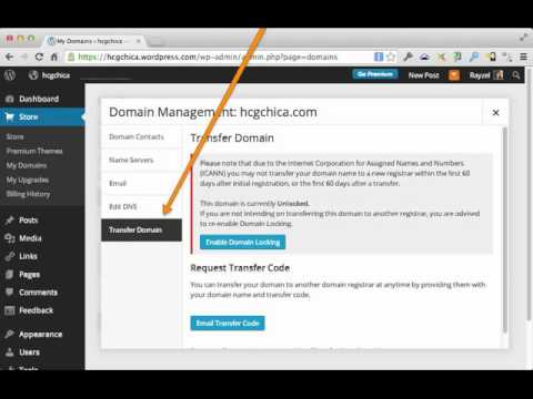 WordPress.com DomainTransfer Tutorial: How to Transfer Your WordPress.com Domain Name