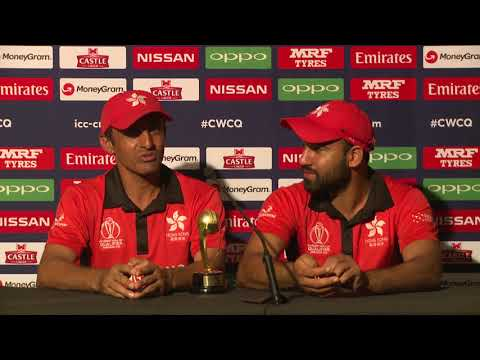 CWCQ: Hong Kong - Babar Hayat and Ehsan Khan - Post match Press Conference - 08 March 2018