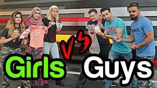 GUYS VS GIRLS - $20 Shopping CHALLENGE