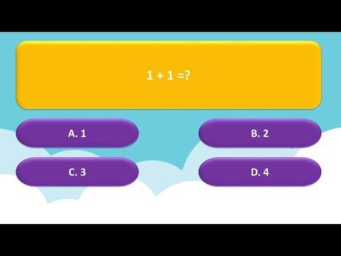 Cách làm câu hỏi trắc nghiệm 4 đáp án trong PowerPoint | TRỢ GIẢNG