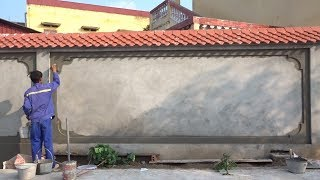 Amazing Creative For Sand and Cement You Need See - How To Build Walls Using Sand And Cement Easy