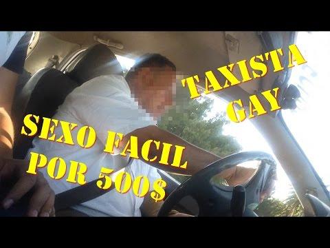 Taxista caliente gay