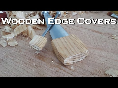 How to Make Wooden Gouge/Chisel Scabbards