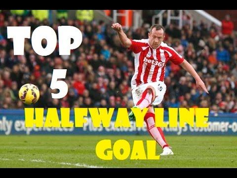 Top 5 Halfway Line Goals