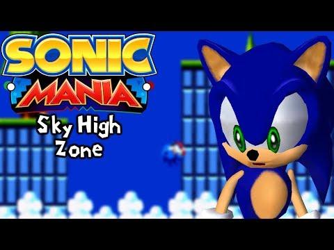 Sonic Mania Mods | Sky High Zone (1080p/60fps)