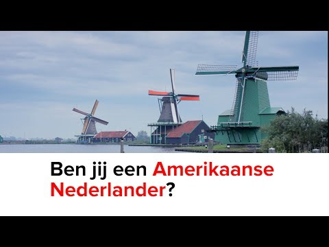 Ben jij een Amerikaanse Nederlander?