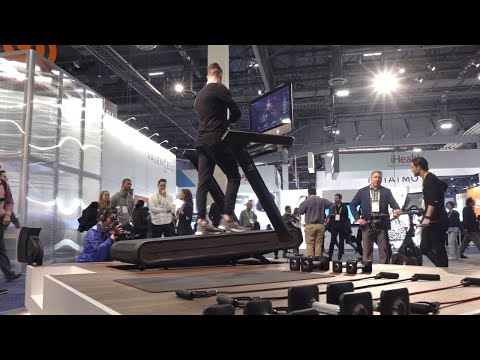 The Peloton internet-connected treadmill first look