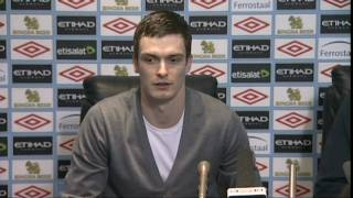 Adam Johnson on signing for Manchester City