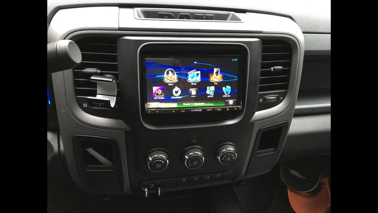 How To Install Aftermarket Radio 2014 Ram Idatalink