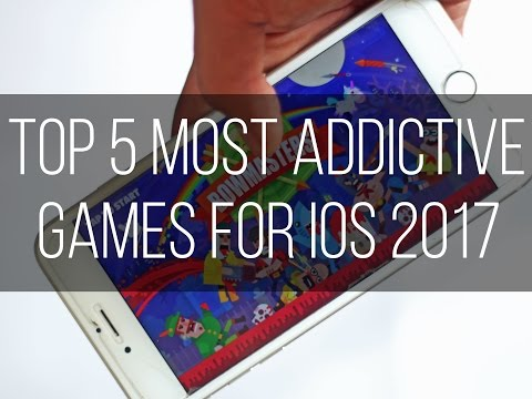 Top 5 Most Addictive Games for iOS [2017]