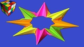 Оригами калейдоскоп. Как сделать динамическую игрушку из бумаги своими руками! Поделки из бумаги.(Учимся рукоделию! Как сделать калейдоскоп из бумаги! Калейдоскоп оригами своими руками! Видео научит вас..., 2016-04-04T12:00:03.000Z)