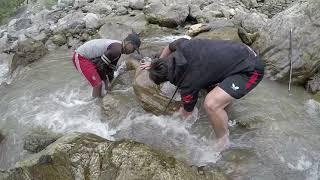 FISHING IN NEPAL   NATURAL FISHING   HIMALAYAN TROUT FISHING   DUWALI FISHING   SMALL RIVER FISHING