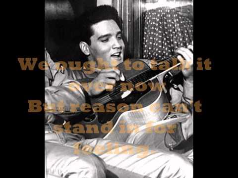 ELVIS PRESLEY -  I'VE LOST YOU ( LYRICS ) VINYL 1974 ( ORIGINAL RELEASE 1970 )