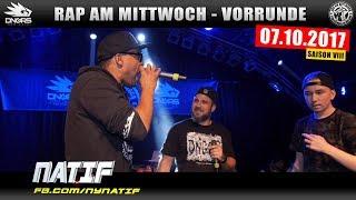 RAP AM MITTWOCH HAMBURG: 07.10.17 Vorrunde feat. NATIF, TEACH, TRIPLEBEAT uvm. (2/4)