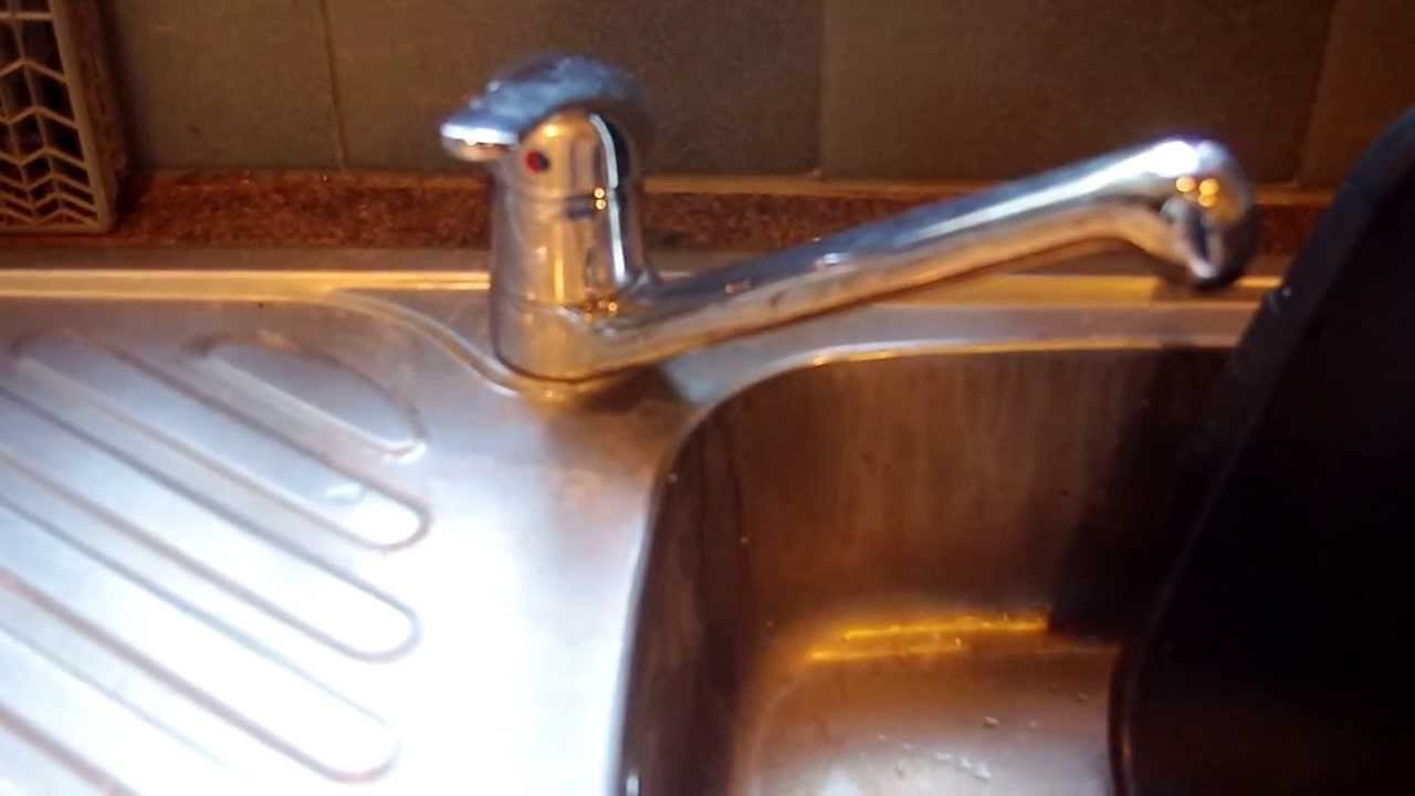ordinary Replacing Kitchen Sink Taps #2: Mixer tap replacement - YouTube