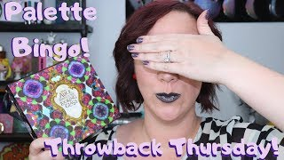 UD Through the Looking Glass | Throwback + Palette Bingo!