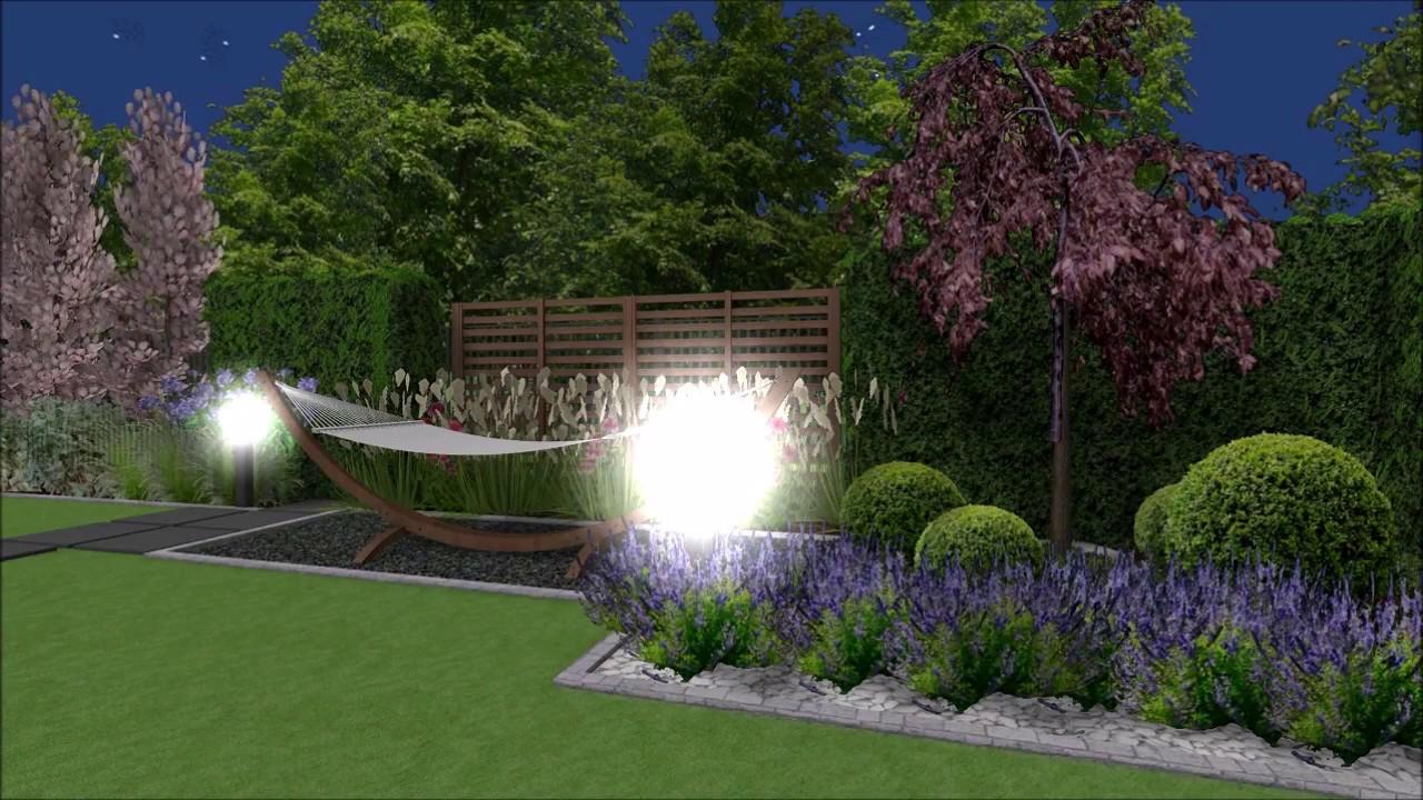 Projekt Ogrodu Z Zadaszeniem Tarasu W Zielonkach Ii