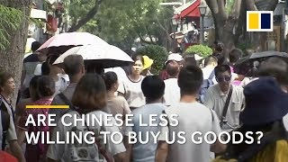 US-China trade war: are Chinese consumers less willing to buy American goods?