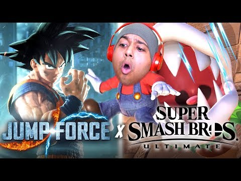 2 GAMES 1 GAMEPLAY MAJOR L'S [PIRANHA PLANT SMASH x JUMP FORCE]