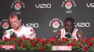 2013 Rose Bowl: Wisconsin Postgame Press Conference